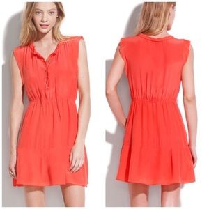 Madewell Broadway & Broome Coral Dress